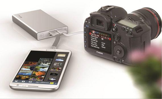 Pin sạc dự phòng Mili Power Data I HB-T60 trang bị công nghệ truyền dữ liệu
