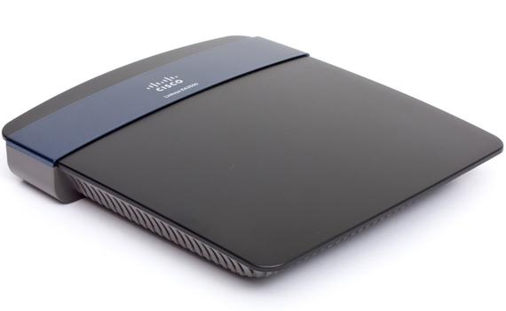 Thiết bị mạng Linksys EA3500 thiết kế hiện đại, nhỏ gọn