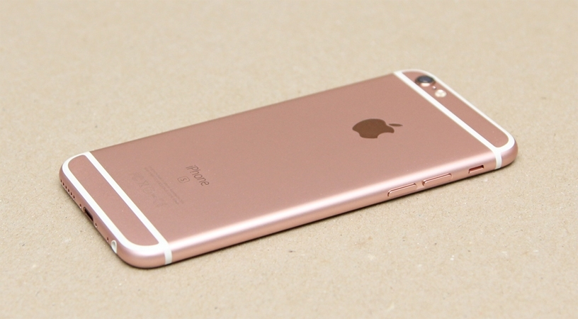 iPhone 6S Plus 16GB vàng hồng thiết kế nhôm nguyên khối