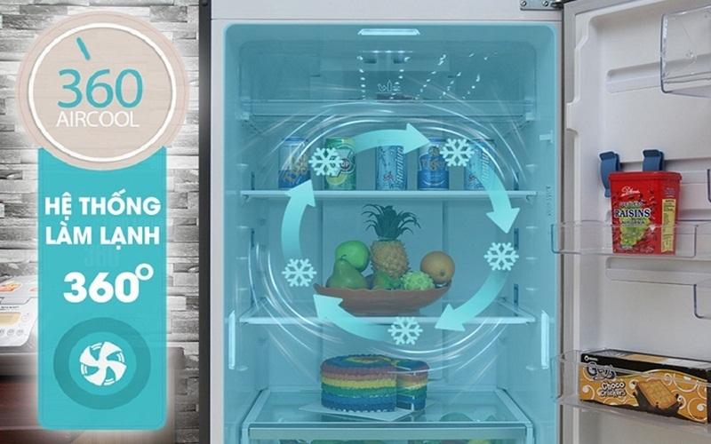 Hệ thống làm lạnh Aircool tiên tiến
