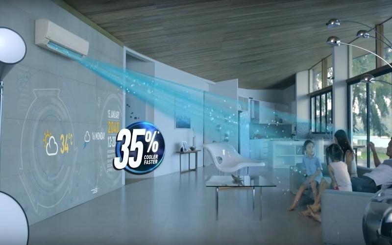 Không khí trong phòng bạn được làm lạnh nhanh hơn 35% so với bình thường
