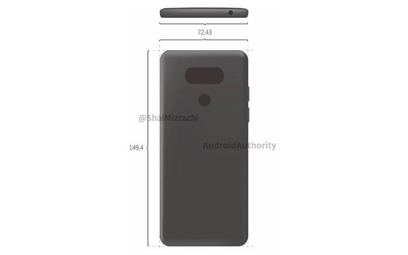 Điện thoại LG G6 có thiết kế mỏng hơn G5