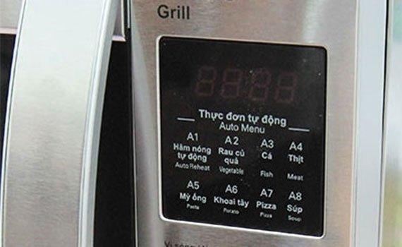 Lò vi sóng Sharp R-G620VN-ST đa dạng chế độ nấu tự động