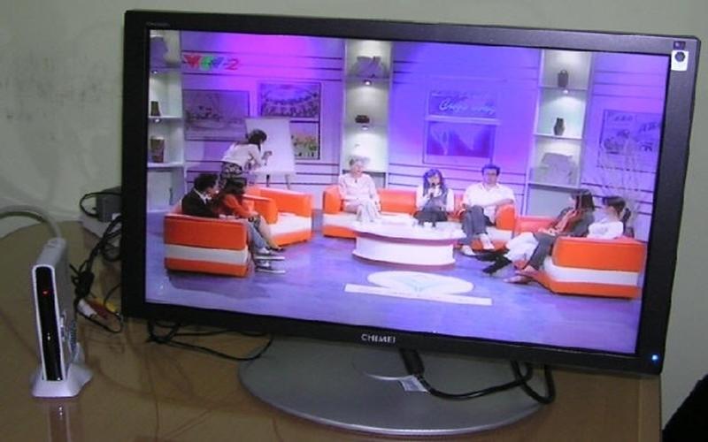 Tận hưởng các chương trình giải trí với chiếc màn hình cũ
