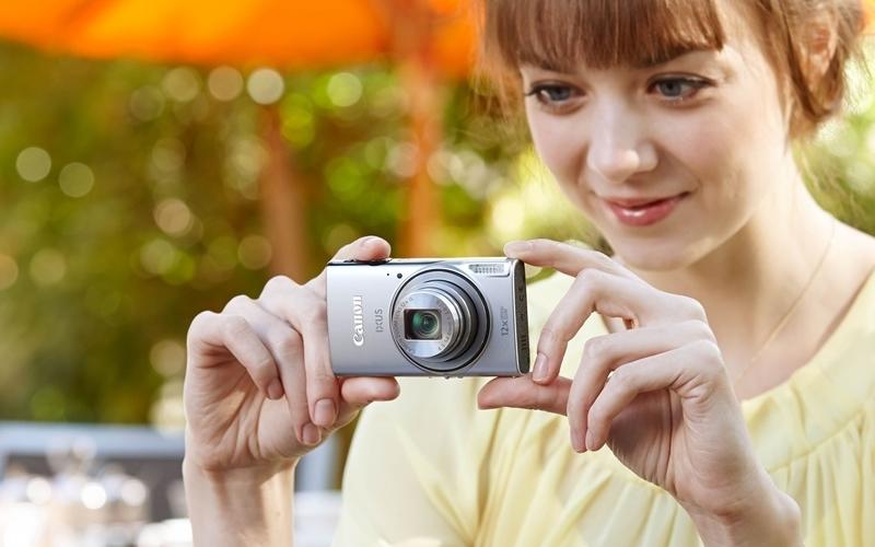 Lung linh sắc màu cùng máy ảnh Canon Ixus 170