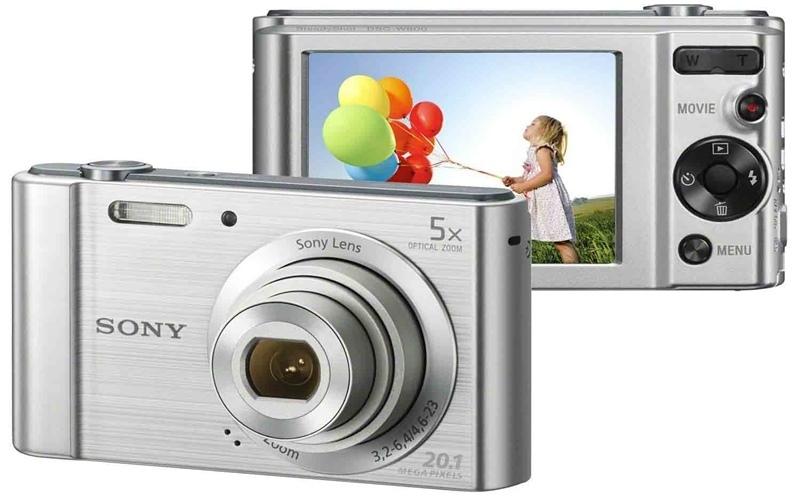 Sony DCS W800 thiết kế phay xướt đẹp mắt