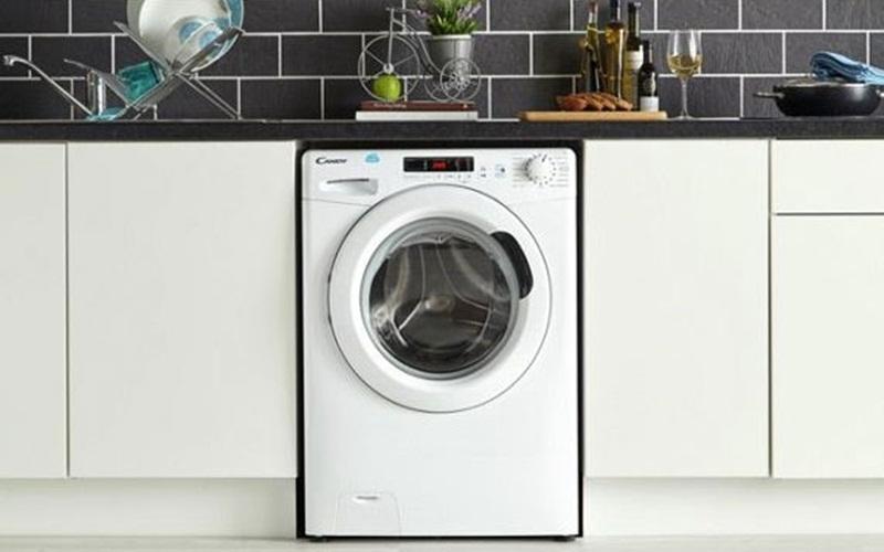 Máy giặt Candy CS1482D3 với thiết kế hiện đại, chuẩn Châu Âu