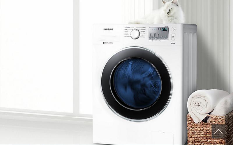 """Máy giặt cửa ngang Samsung """"nâng niu từng sợi vải"""" với những công nghệ giặt hiện đại nhất"""