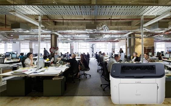 Máy in laser Canon LBP 6230DN thiết kế thân thiện cho văn phòng