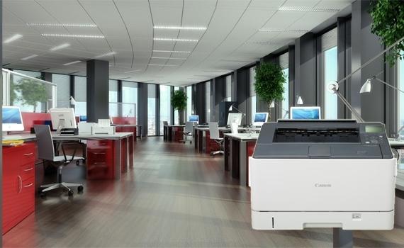 Máy in laser Canon LBP 8780X thiết kế thân thiện cho văn phòng