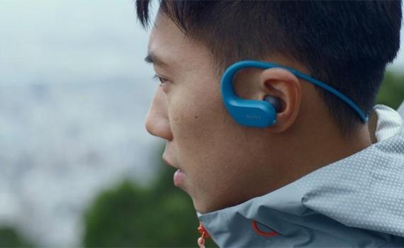 Máy nghe nhạc MP3 Sony NW-WS413 dung lượng pin đến 12h