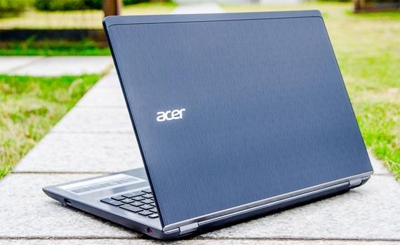 Máy tính xách tay Acer V5-591G thiết kế mỏng, cứng cáp