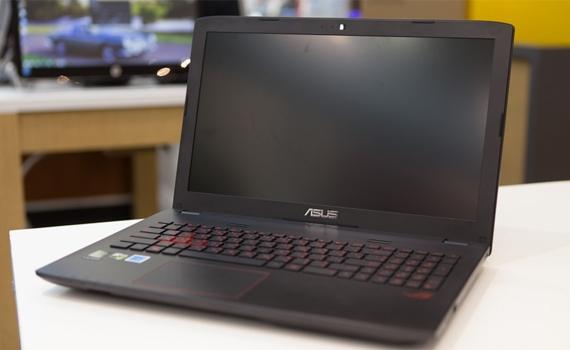 Máy tính xách tay Asus ROG GL552JX trang bị màn hình 15.6 inches