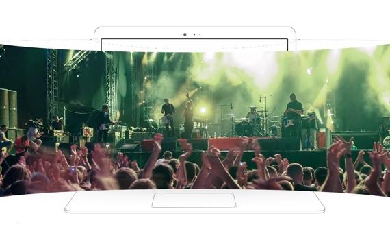 Máy tính xách tay ASUS VivoBook Flip TP501UA với âm thanh SonicMaster