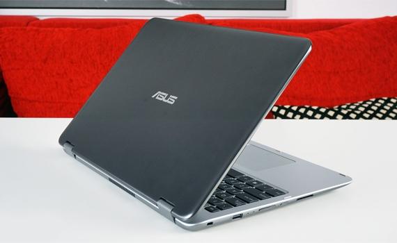 Máy tính xách tay ASUS VivoBook Flip TP501UA vẻ ngoài sang trọng