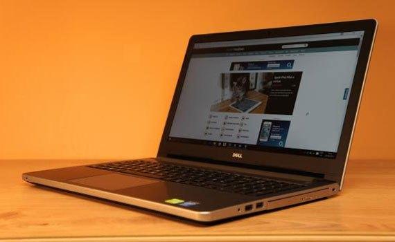 Máy tính xách tay Dell Inspiron 5558 sở hữu màn hình 15.6 inches