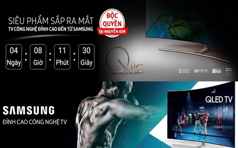 Nguyễn Kim hiện đang là nhà phân phối độc quyền của chiếc tivi flagship này