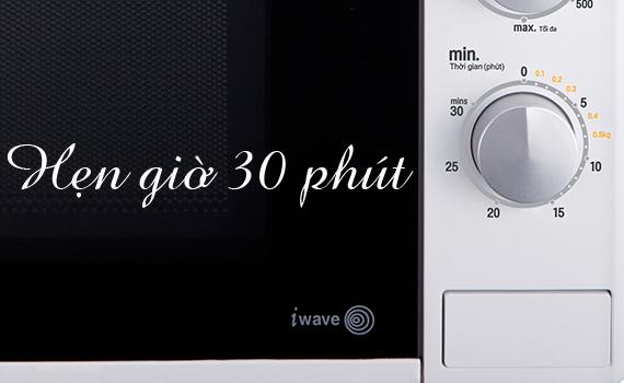 Lò vi sóng LG MH6024D 20 lít có chức năng hẹn giờ