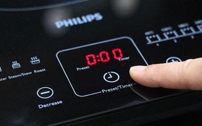Bếp điện từ Philips HD4911 sử dụng bền tốt