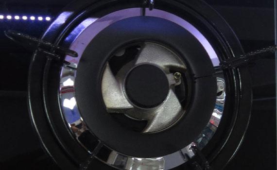 Bếp gas Rinnai RVB-2BG(B)N có đầu đốt bền tốt