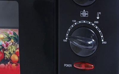 Lò nướng Sanaky VH-359S 35 lít có nhiều mức nhiệt độ