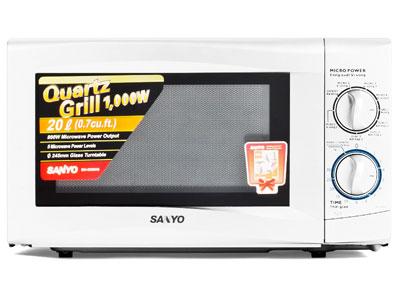 Mua lò vi sóng nào tốt? Lò vi sóng Sanyo EM-G206AW 20L