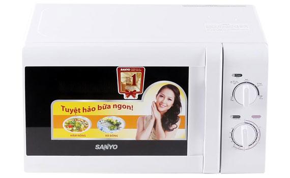 Mua lò vi sóng nào tốt? Lò vi sóng Sanyo EM-S2182W 20L nguyenkim.com