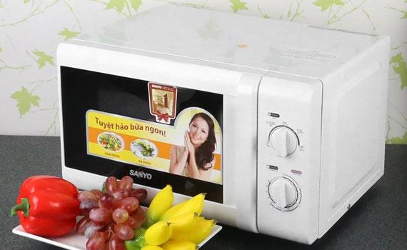 Lò vi sóng Sanyo EM-S2182W 20 lít giảm giá tại nguyenkim.com