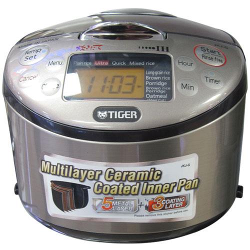 Nồi cơm điện Tiger JKJ-G10W 1 lít giảm giá tại nguyenkim.com