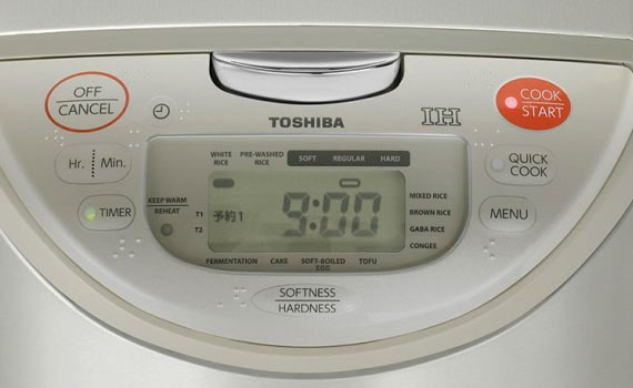 Nồi cơm điện Toshiba RC-10RH(CG)VN 1 lít có điều khiển điện tử thông minh
