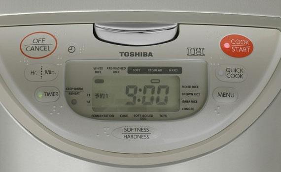 Nồi cơm điện Toshiba RC-18RH(CG)VN 1.8 lít có điều khiển điện tử thông minh