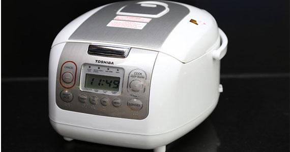Nồi cơm điện Toshiba RC-10NMF(WT) chức năng nấu đa dạng
