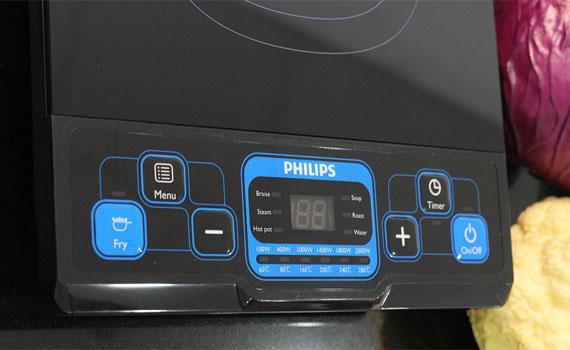 Bếp điện từ Philips HD4921 nhiều chế độ nấu tiện lợi