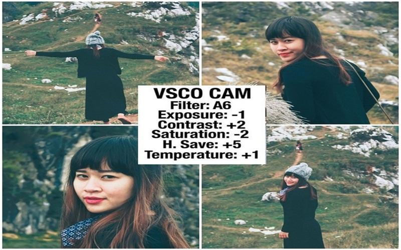 Phong cách ảnh thật vintage khi dùng VSCOcam