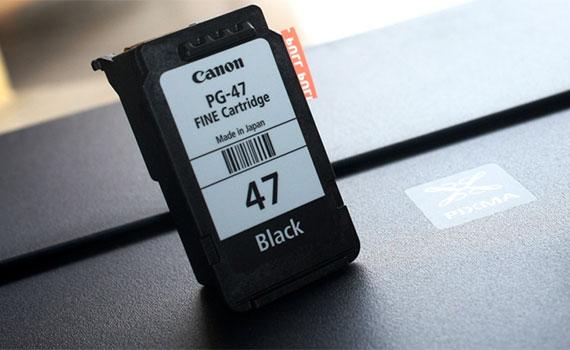 Mực in phun Canon PG-47 thích hợp các dòng máy in
