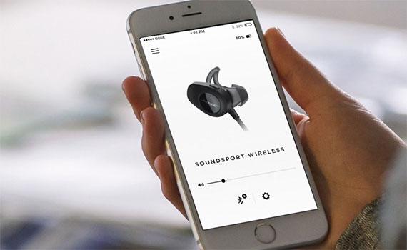 Tai nghe không dây Bose Soundsport 761529-0030 kết nối Bluetooth tiện lợi