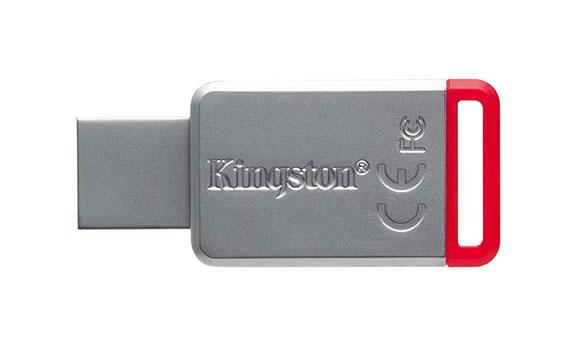 USB Kingston 32GB DT50 màu trắng đỏ sử dụng tiện lợi