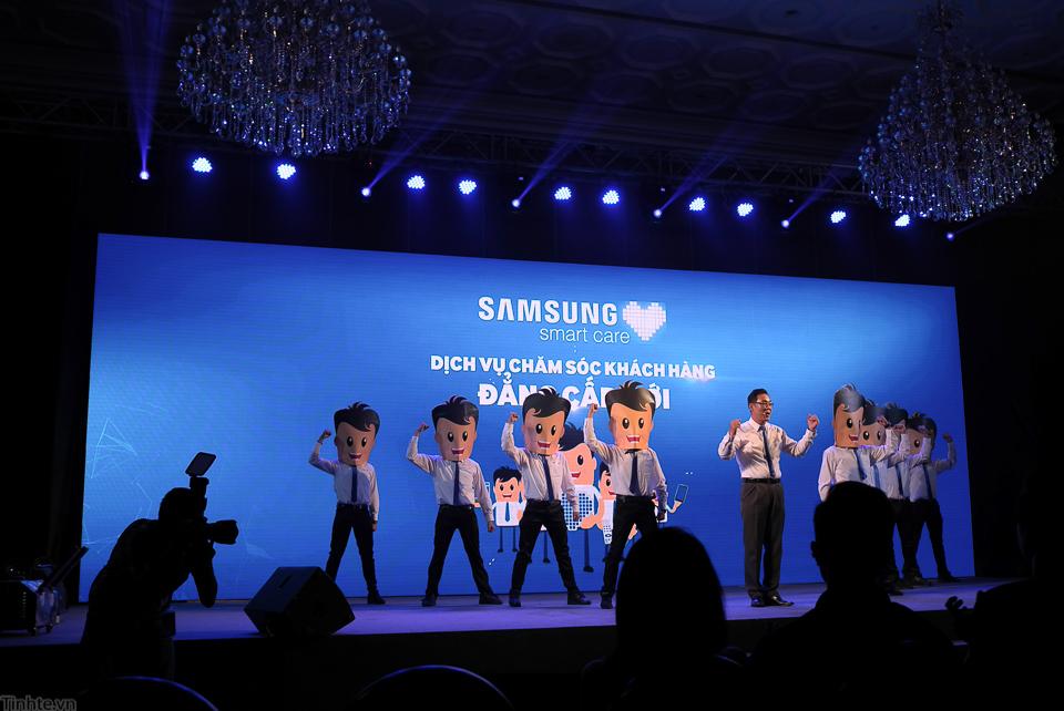 Dịch vụ chăm sóc của Samsung