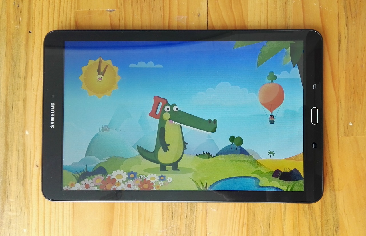 Samsung Galaxy Tab E trang bị bộ vi xử lí lõi tứ với xung nhịp 1.3 GHz