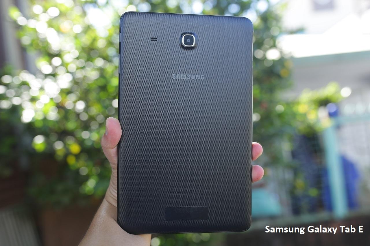 Samsung Galaxy Tab E với thiết kế thời trang