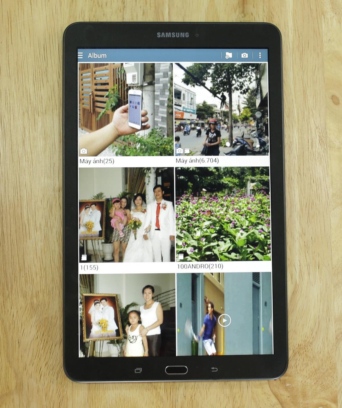 Galaxy Tab E trang bị cấu hình tầm trung, màn hình 9.6 inch