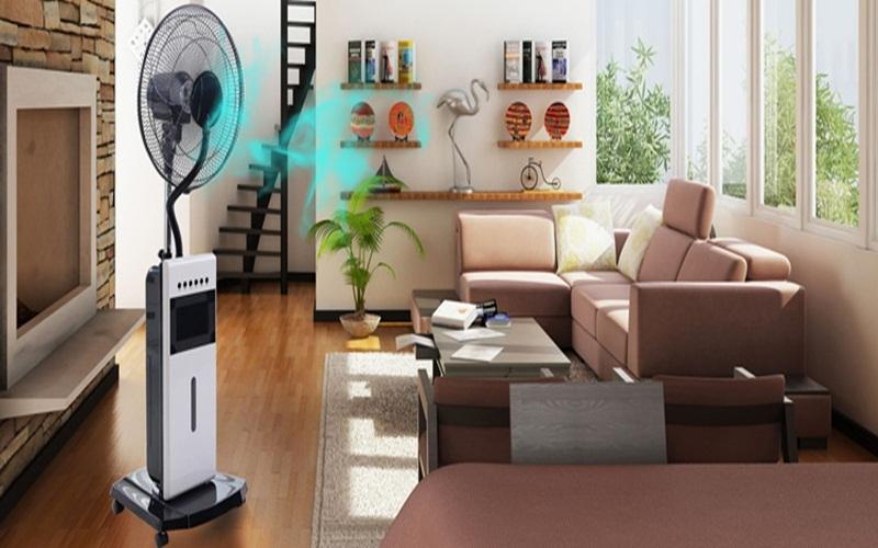Quạt phun sương dễ gây ẩm mốc cho đồ điện