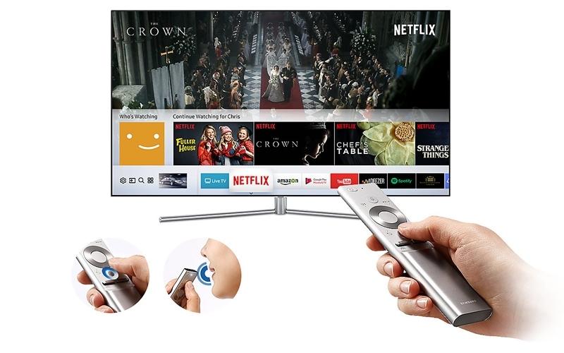 Điều khiển tivi QLED thật đơn giản với chiếc remote thông minh
