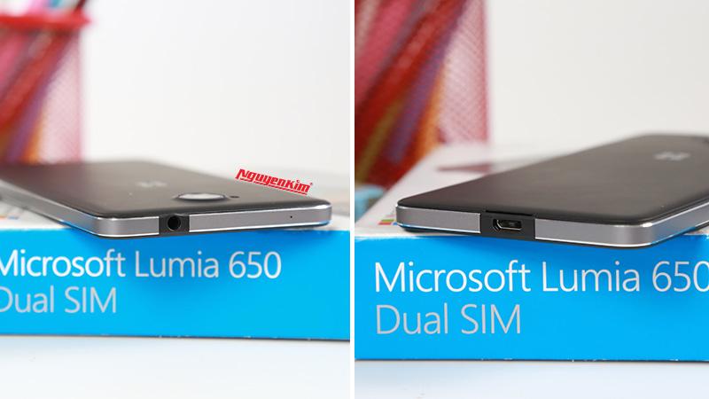 Điện thoại Microsoft Lumia 650 siêu mỏng nhẹ