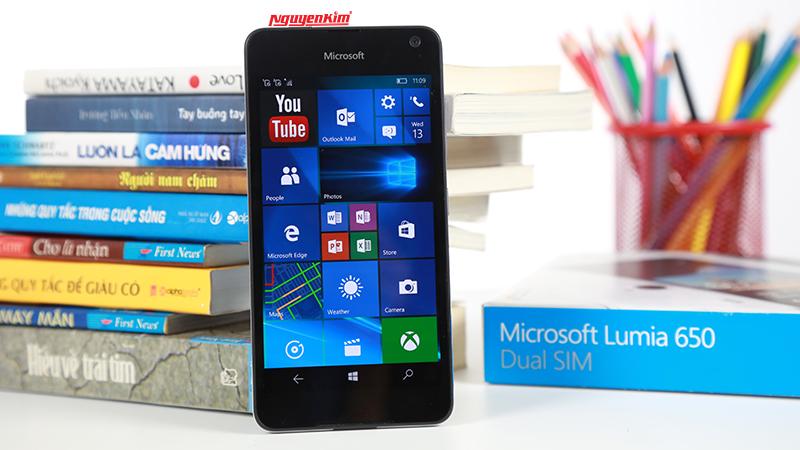 Điện thoại Microsoft Lumia 650 chip Snapdragon 212