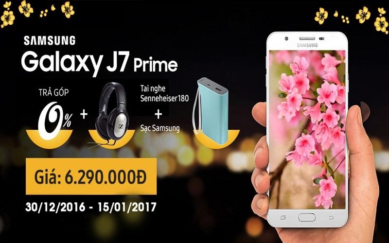 Samsung Galaxy J7 Prime có chương trình khuyến mãi ưu đãi