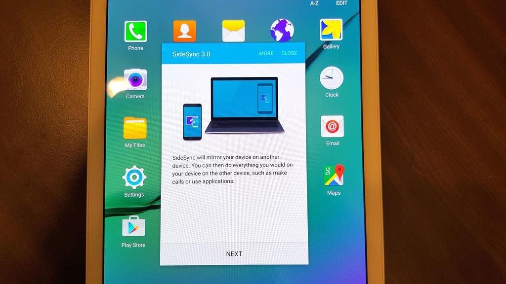 Máy tính bảng Samsung Galaxy Tab S2 kết nối điện thoại, laptop thông minh