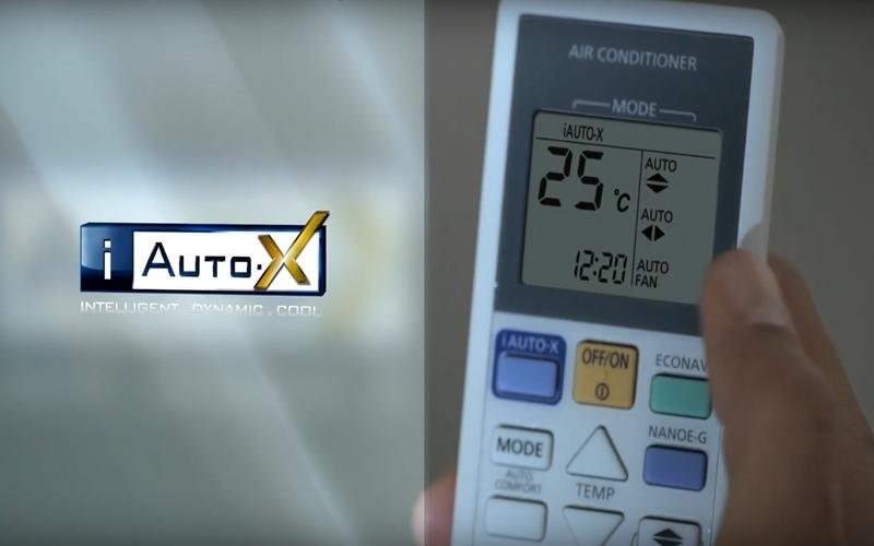 Sau khi đạt mức nhiệt độ thiết lập, máy sẽ tự động chuyển sang chế độ làm lạnh Autocomfort