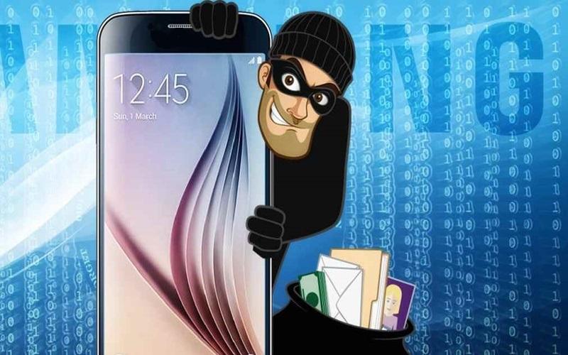 Điện thoại không khóa rất dễ bị mất thông tin