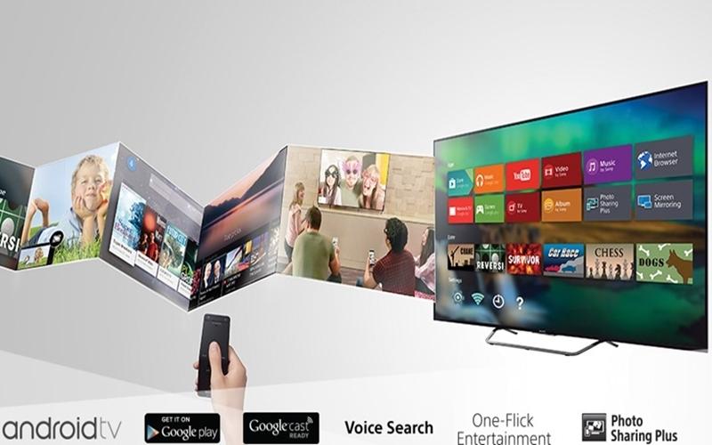 Kho giải trí khổng lồ trên hệ điều hành Android của TV Sony